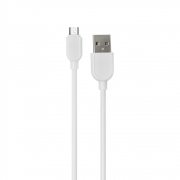 DATA CABLE ΕΜΥ MY-446, Micro USB, 1.0m White   MY-446