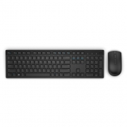 DELL Keyboard & Mouse KM636 Greek Wireless, Black