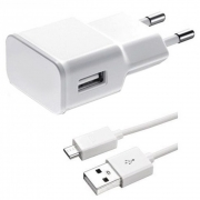 CHARGER UNIVERSALx 1USB to MICRO CABLE 5V/2A