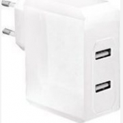 LOGILINK 2x USB ADAPTER CHARGER POWER WHITE PA0094