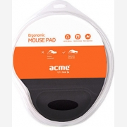 ACME ERGONOMIC MOUSEPAD WRIST REST BLACK  AC70201