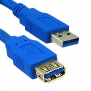 CABLE USB 3.0 USB-A male - USB-A female 1.8m