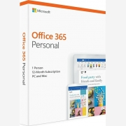 MICROSOFT Office 365 Personal P4 , 1 Year Subscription, Medialess,English