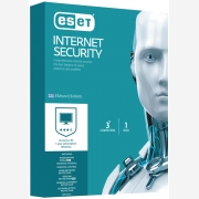 ESET Internet Security V10 3 Licenses, 1 Year