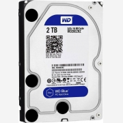 WD Blue Hard drive 2 TB internal 3.5  WD20EZRZ
