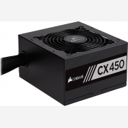 CORSAIR PSU 450W CMPSU-CX450EU CP-9020120-EU, BUILDER SERIES CX, BRONZE CERTIFIED, 12CM QUIET & COOL