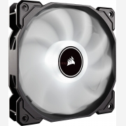 Corsair Air Series AF140 LED Low Noise 3-Pin Cooling Fan, Single Pack, White (CO-9050085-WW)