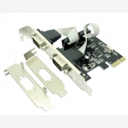 APPROX PCI EXPRESS CARD 2PORTS SERIAL LOW PROFILE