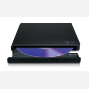 LG DVD Slim External Super-Multi DVD Drive, Black GP57EB40