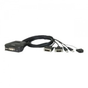 ATEN CS22D KVM switch USB 2 x KVM port(s)     CS22D-AT