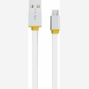 CABLE EMY USB-MICRO USB WHITE 1m (MY-444)