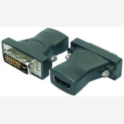 LOGILINK VIDEO ADAPTER HDMI / DVI HDMI (F) to DVI    AH0001