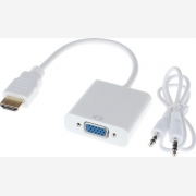 ADAPTER DE TECH HDMI M - VGA F (18254)