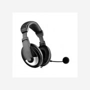 HEADSET FOR PC Black (20360)