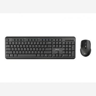 TRUST - ODY Wireless GR Keyboard with mouse   24160